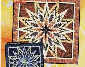 Feathered Star Foundation Paper Pieced Judy Niemeyer Wall Quilt Pattern
