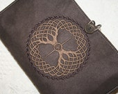 Celtic Tree Embroidery Book Cover
