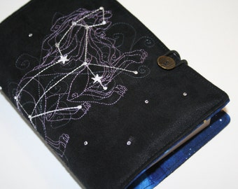 Leo  Embroidered Book Cover