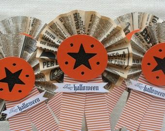 Halloween Decor - Halloween Centerpiece - Halloween Party Decor - Paper Medallions