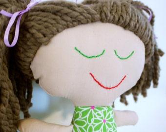 Handmade Rag Doll OOAK