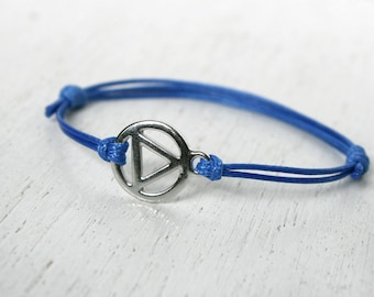 AA Recovery bracelet, AA Recovery Anklet (many colors to choose)