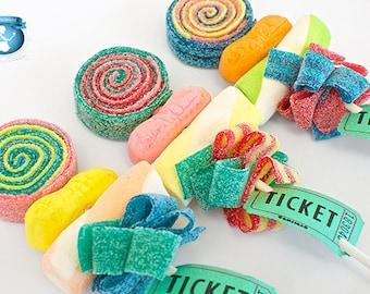 10 Circus Sweet Skewers