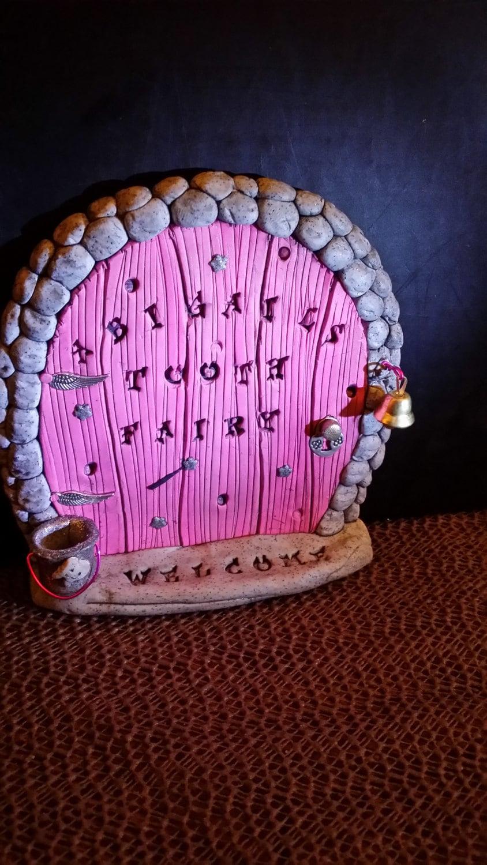 Tooth fairy door personalized custom for Tooth fairy door