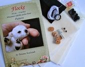 KIT for making bear Flocke - pattern and materials