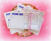 Bundle of Vintage 1950's Phone Call Message Slips