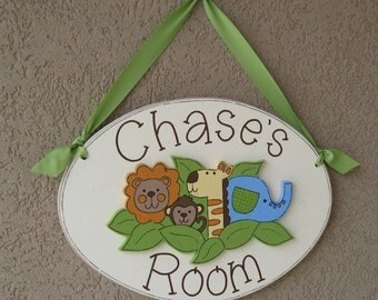 Custom Personalized Name or Word Oval Sign for children, home, desk, shelf, decor