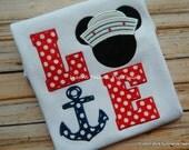 Anchors Away on a Disney Cruise Shirt