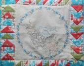A Sweet Little Birdie PDF Quilt Block pattern From Quilt Doodle Designs