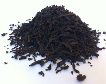 LAPSANG SOUCHONG SAMPLE (Organic loose leaf smoked black tea) Sample Sizes
