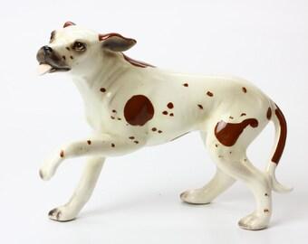 Lefton Figurine Pointer Dog - Ceramic 8446
