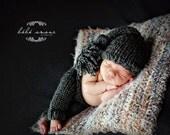 Newborn Photo prop Baby Blanket  super soft and cozy basket filler basket stuffer photography prop