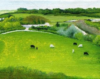 Yeovil, Somerset, England 4 x 6 Print by SBMathieu