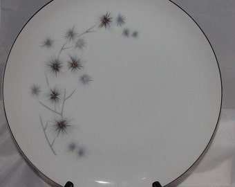 Creative Fine China Platinum Starburst 1014 Bread and Butter Plate, Japan