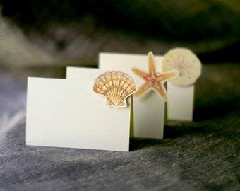 fish escort cards etsy. Black Bedroom Furniture Sets. Home Design Ideas