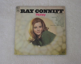 "Vintage Vinyl LP Record Album: "" Ray Conniff Honey """