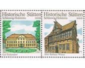 Stamps - Schleswig Holstein - North German Architecture - sheet