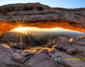 Mesa Arch Magic.... Mesa Arch at Sunrise Fine Art  Photographic  Print