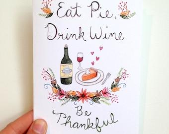 Be Thankful Card