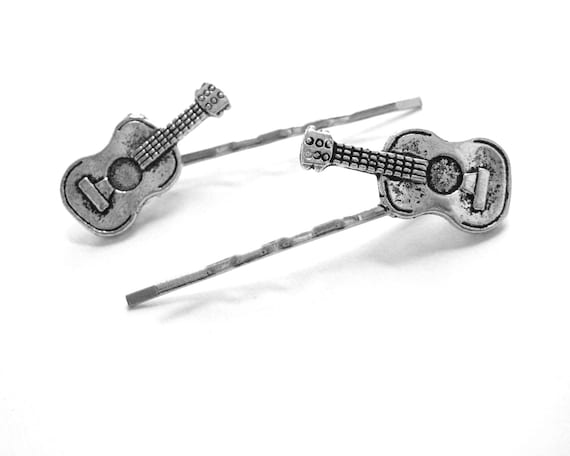 Guitar Hair Clips