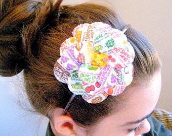 Mad for Lollipops Daisy Paper Mache Headband