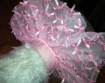 Pink Party Ribbon Dog  Tu Tu, Dog Costume