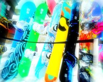 Snowboards impression