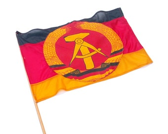 East German Souvenir Flag Collectible Streamer