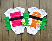 Twin Sushi Costume, Shrimp AND Tuna Costumes, Costume Children, Funny Halloween Costume, Baby Clothes, Gifts under 100