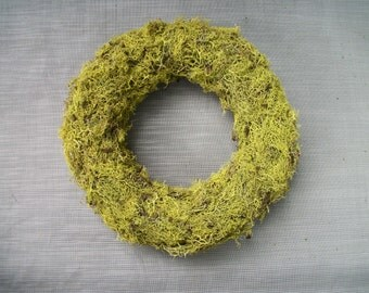 lichen covered wreath