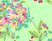 Love  Water Bouquet Mint  by Amy Butler  Quilt Fabric- 1/2 Yd BTY for Westminster Fabrics