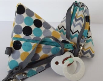 Any Two Dollbirdies Original Paci Pod, Coin, Jewerly, Knitting Notions Pouch