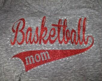 Basketball Mom Shirt, Basketball Mom Bling Shirt, Basketball Shirt, Basketball Mom, Basketball Grandma Shirt, Basketball Tank, Basketball
