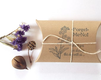 Unique Bridal Shower Favors. Forget-Me-Not Seeds. Set of 50. Wedding Favors. Memorial Favors.