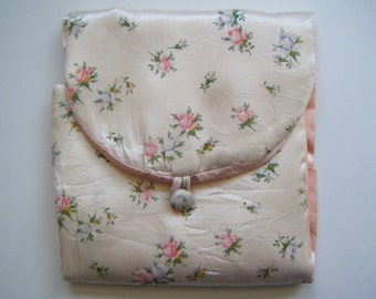 Vintage Hanky Jewelry Envelope Bag
