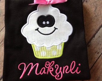 Ghost Cupcake Personalized T-Shirt