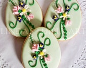 Easter Bouquet Cookie