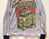 Vintage teenage mutant ninja turtle top