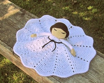 Princess Leia Crochet Blanket Lovey