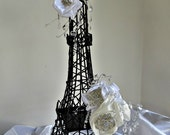 Eifffel  Tower  Party centerpiece, a statement Parisian centerpiece for wedding reception, Parisian themed Bridal shower and Baby  Shower.