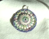 Beaded Crocheted Ornament or Decoration
