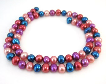 Multicolor Freshwater Pearls