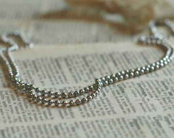 Sterling Ball Chain - Create Your Own Necklace By Inspired Jewelry Designs