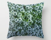 Dorm Room Decor - Bubbles! - teen, blue, green, photo pillow, throw pillow