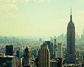office decor new york city - Empire State Building - Fine Art Photography Print