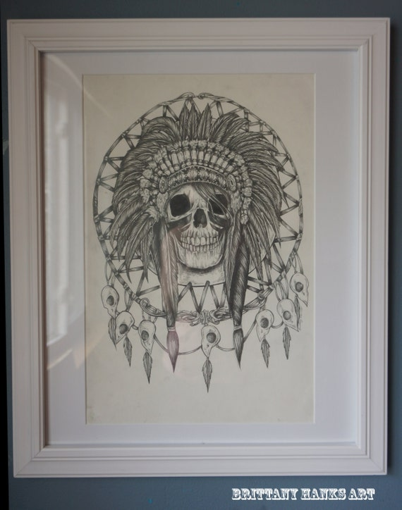 Native american indian acchiappasogni dream catcher di for Acchiappasogni disegno