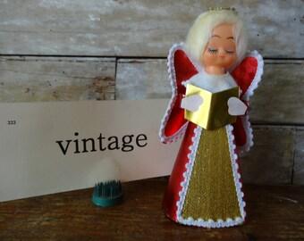 Vintage Caroling Angel