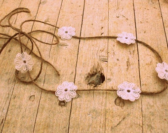 COACHELLA Edc festival Headband Flower Lace Headband Music Festival Hair Accessories daisies hair Bachelorette party headpiece Hippie
