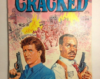 Cracked Magazine Lethal Weapon 3 1/2 Do the Riot Thing Number 275