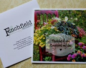 art, photography, photo card, inspirational handmade greeting, garden art, red chair, country chic, rustic country